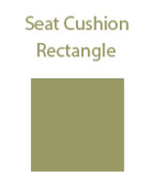 Rectangular Seat Cushion