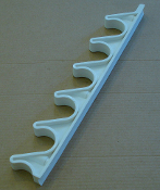 "6- Position Adjustment Bracket (Natural Nylon) 10 5/8""  - 30-908"